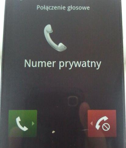 numery prywatne mimo blokady