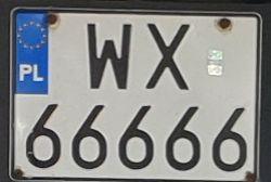 polskie tablice rejstacyjne