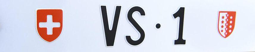 szwajcarskie tablice rejestracyjne