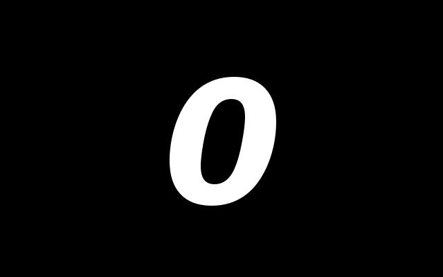 numery z zerami